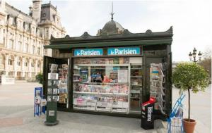 Paris News Kiosk